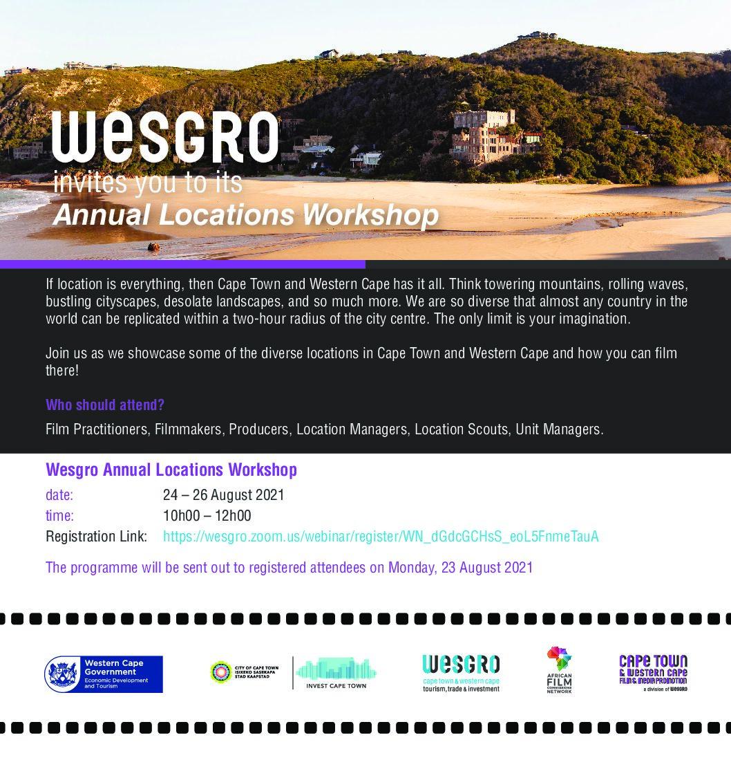 INVITATION: Annual Film Locations Workshop